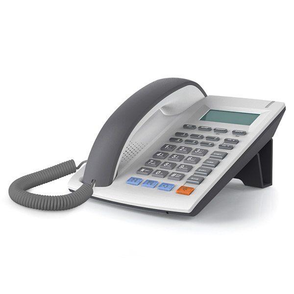 심플한 디자인의 보급형 인터넷 전화기